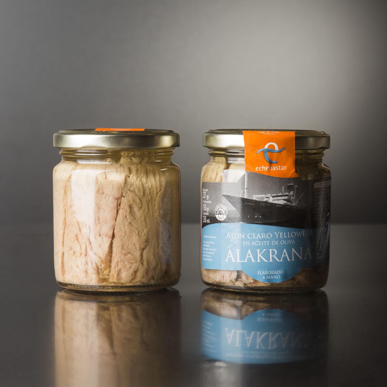 Conserva tradicional de atún ALAKRANA (12 uds)