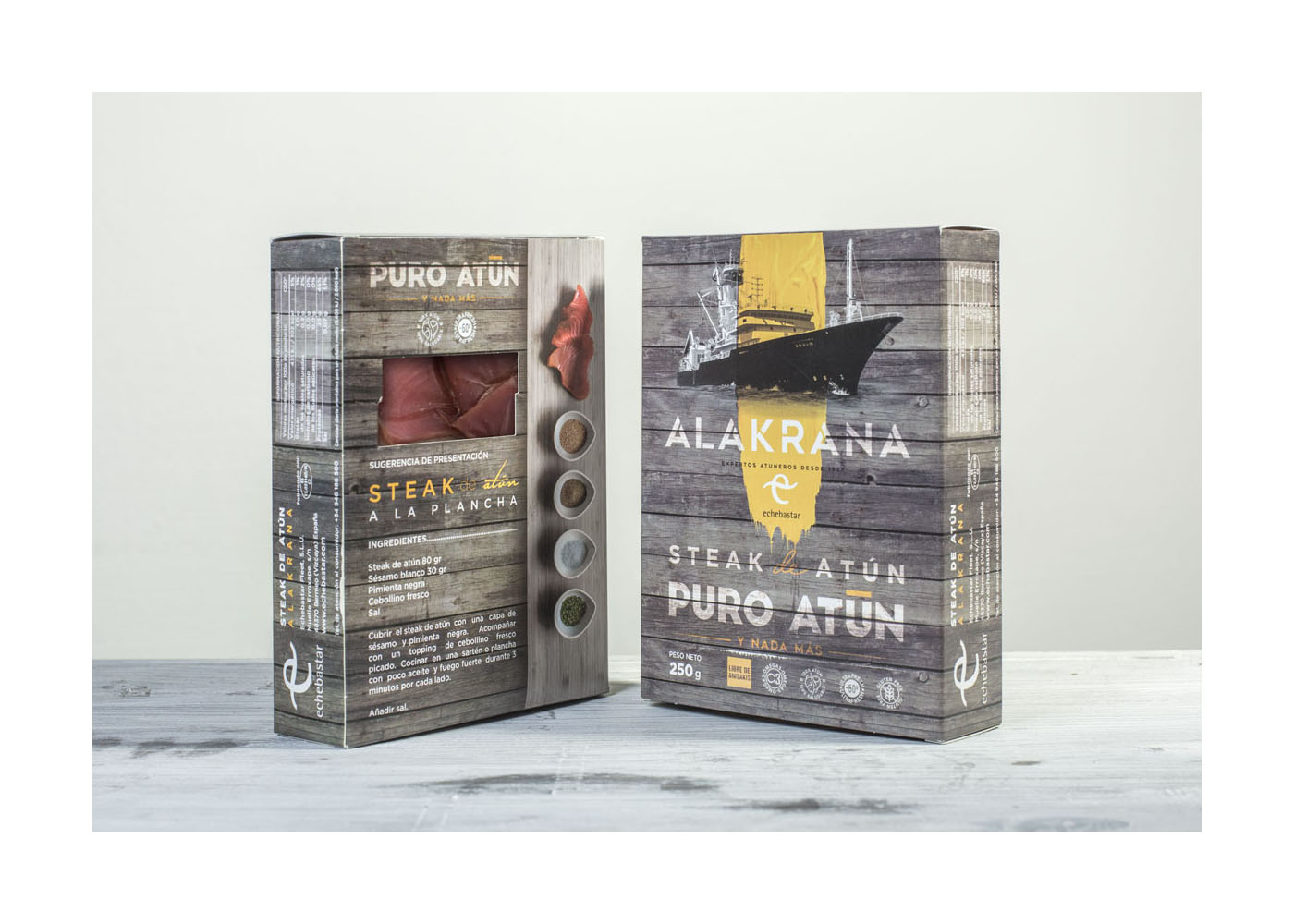 Steak de atún ALAKRANA