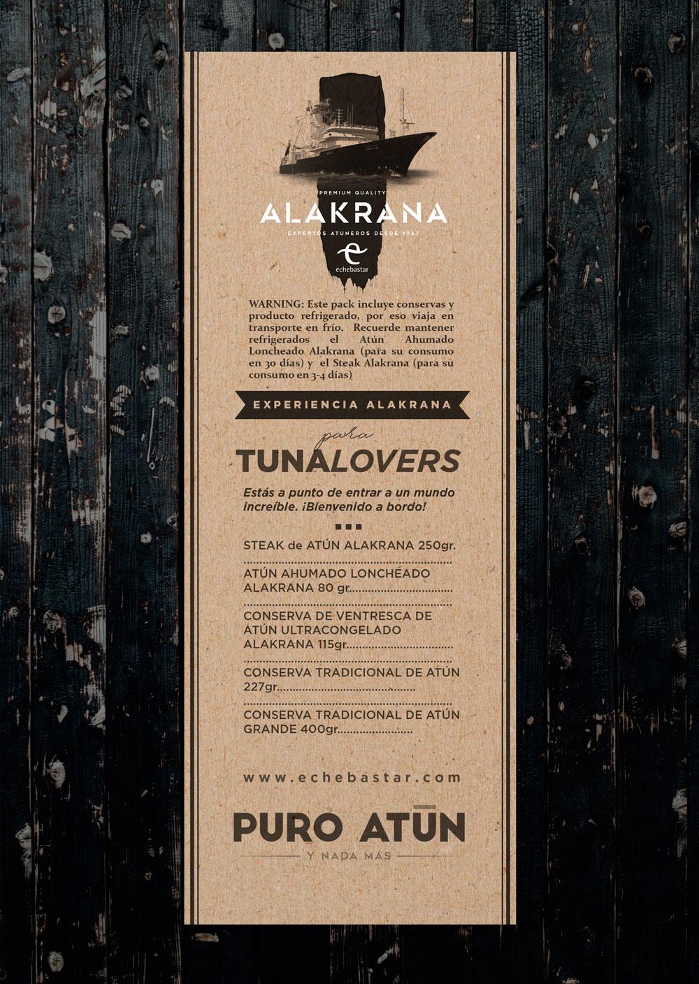 EXPERIENCIA ALAKRANA PARA TUNALOVERS